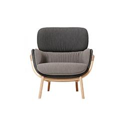 爱丽霞休闲椅 elysia lounge chair 卢卡·尼奇托 Luca Nichetto
