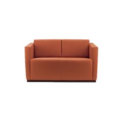 埃尔顿双座沙发 elton 2-seater sofas 万德诺 WALTER KNOLL品牌 Jan Kleihues 设计师