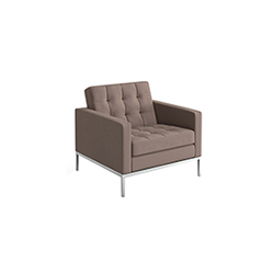 佛罗伦萨诺尔休闲椅 florence knoll lounge chair 诺尔 knoll品牌 Florence Knoll 设计师