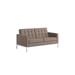 佛罗伦萨诺尔中型沙发 florence knoll settee 诺尔 knoll品牌 Florence Knoll 设计师