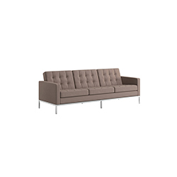 佛罗伦萨诺尔3人座沙发 florence knoll 3 seat sofa knoll Florence Knoll