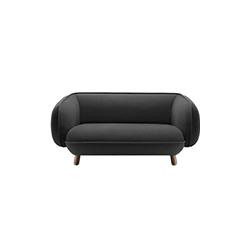 巴塞特双座沙发 basset 2-seater sofa 伊期克斯&柏林 ISKOS & BERLIN