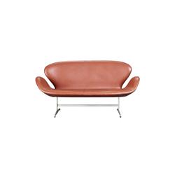 天鹅沙发 swan sofa 弗里茨 汉森 fritz hansen品牌 Arne Jacobsen 设计师