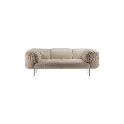 比波普双座沙发 bebop 2-seater sofa poltrona frau poltrona frau品牌 Cini Boeri 设计师