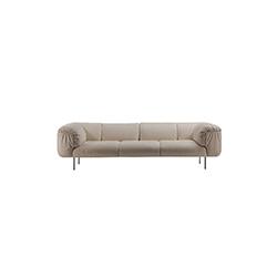 基尼·博埃里 Cini Boeri| 比波普三座沙发 bebop 3-seater sofa