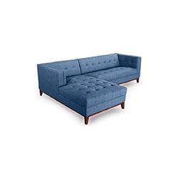 哈里森阁楼现代五座沙发 harrison loft modern 5 sofa