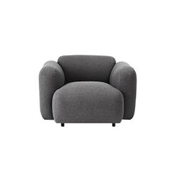 膨胀单座沙发 swell 1-seater sofa  Jonas Wagell