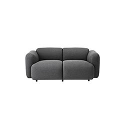 膨胀双座沙发 swell 2-seater sofa 琼斯·维格 Jonas Wagell