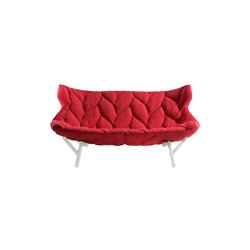 树叶双座沙发 foliage 2-seater sofa 卡特尔 kartell品牌 Uroquiola Patricia 设计师