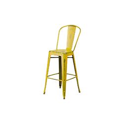 tolix高背吧凳 tolix high back bar stool Tolix Xavier Pauchard