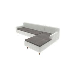 埃特纳火山转角沙发 etna corner sofa marmo marmo品牌  设计师