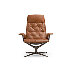 希利休闲椅 HEALEY SOFT 万德诺 WALTER KNOLL品牌 PearsonLloyd 设计师