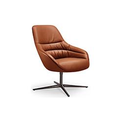 KYO LOUNGE 休闲椅 KYO LOUNGE 万德诺 WALTER KNOLL品牌 PearsonLloyd 设计师