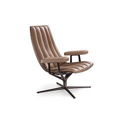 希利休闲椅 HEALEY LOUNGE 万德诺 WALTER KNOLL品牌 PearsonLloyd 设计师