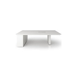 X6视频会议系统桌 Display table_X6 霍尔茨 holzmedia品牌  设计师
