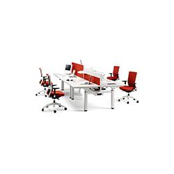流动性职员系统桌系列 MOBILITY Staff system table Actiu Javier Cunado