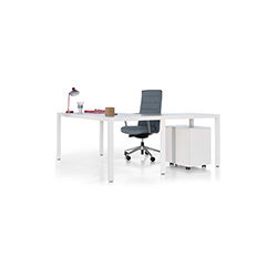 PRISMA行政桌系列 PRISMA executive desk series 阿特鲁 Actiu品牌 Sylvain Carlet & Isern Serra 设计师