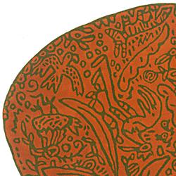 贾维尔•马里斯卡尔 Javier Mariscal| 虫子与花地毯 Bichos Y Flores rug