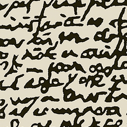 黑白手抄本地毯 Black on white Manuscrit rug nanimarquina nanimarquina品牌 Joaquim Ruiz Millet 设计师