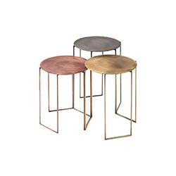 金属边几角几 Band side table