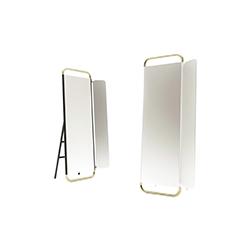 坎托的落地镜 Cantone floor mirror marmo