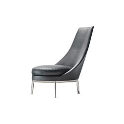 古西奥·阿尔托扶手椅 Guscio Alto Armchair Flexform