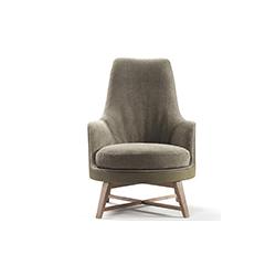 Guscio高软椅 Guscio Alto Soft Flexform