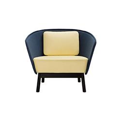 光环木质沙发 aura wood sofa 英诺 Inno Interior品牌 Mikko Laakkonen 设计师
