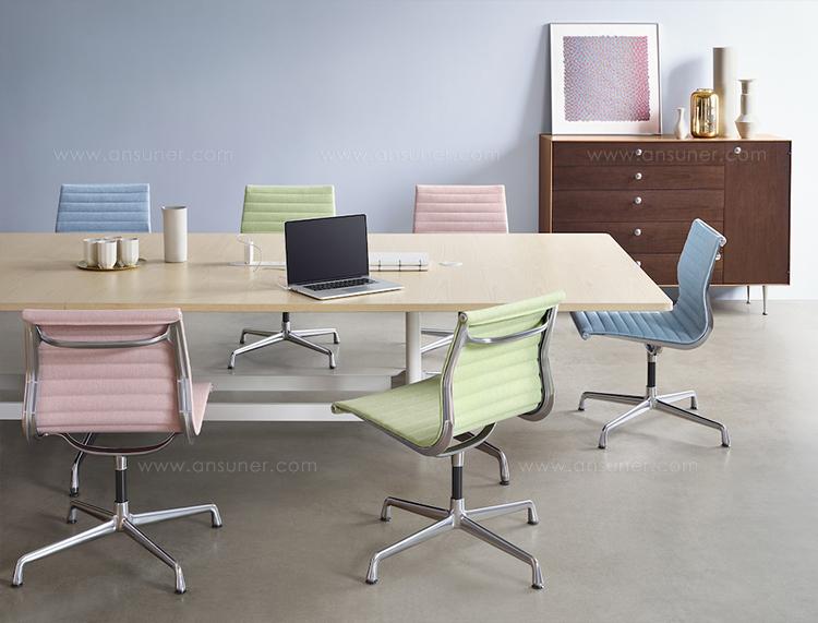 伊姆斯会议椅、eames® aluminum group side chair、AB003/A2114-2产品详情