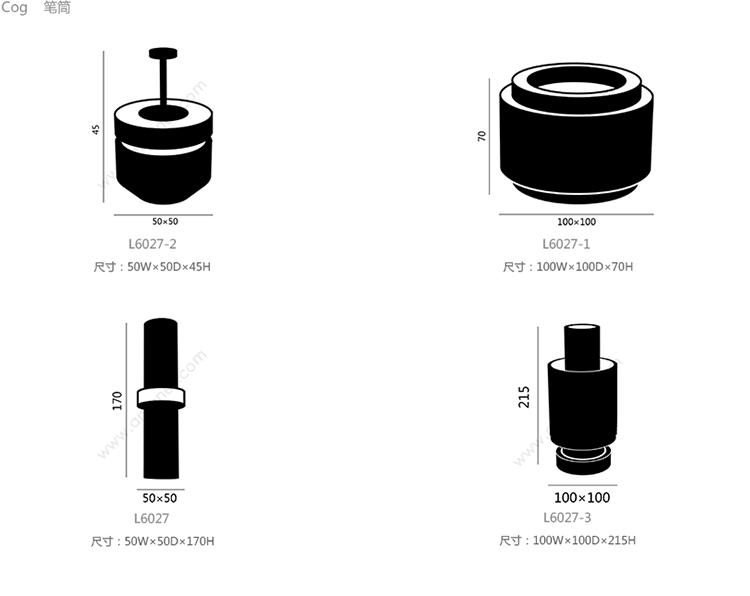 齿轮黄铜小笔筒、cog container small brass、L6027-2产品详情