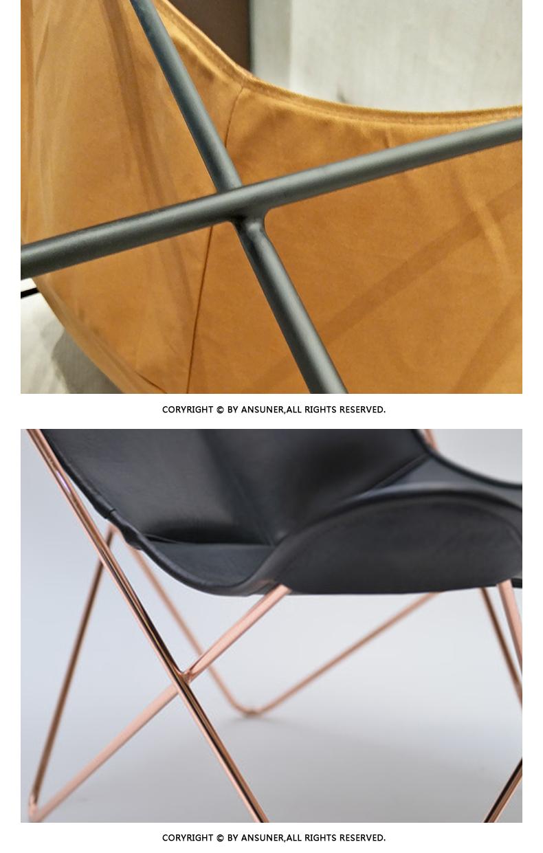 休闲帆布蝴蝶椅